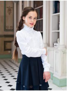 Блузка 0312 (белый)